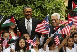 Laatste actie Obama: miljoenen voor de Palestijnen