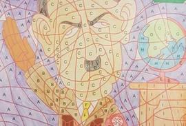 Niet opgelet, Hitler in Kruidvat-kleurboek