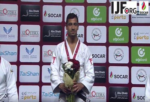 Geen vlag en volkslied voor winnende Israëlische judoka