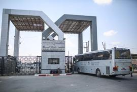 Hamas draagt grensovergang over aan PA