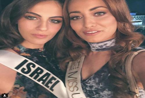 Doodsbedreiging om selfie met Miss Israël