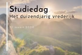 Studiedag duizendjarig vrederijk (21 maart)