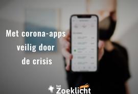 Met corona-apps veilig door de crisis