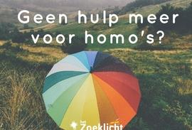 Geen hulp meer voor homo's?